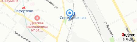 СВЕДТЕКС на карте Москвы
