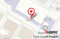 Схема проезда до компании Эрта в Москве
