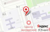 Схема проезда до компании Агмен в Москве