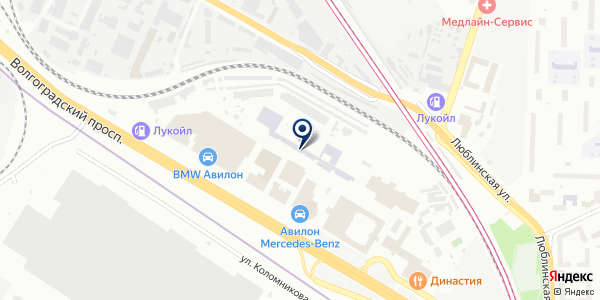 ТФ БИТ на карте Москве