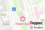 Схема проезда до компании Полет КВ в Москве