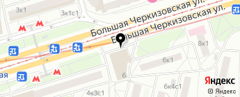 ChipTun на карте Москвы