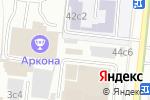 Схема проезда до компании 8 Таксомоторный парк в Москве