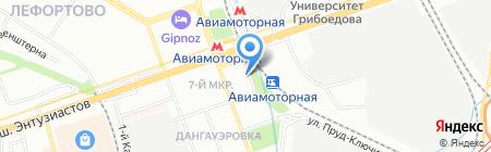 Флос на карте Москвы