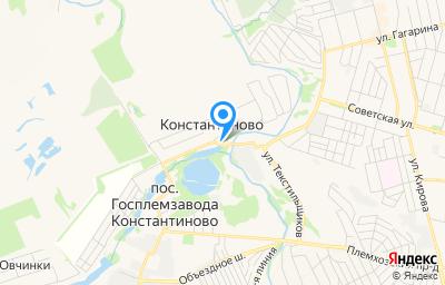 Местоположение на карте пункта техосмотра по адресу Московская обл, г Домодедово, с Константиново, тер Васко, стр 2
