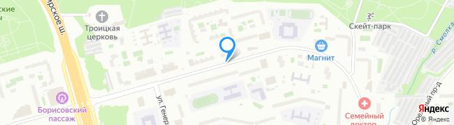 Борисовский проезд