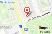 Схема проезда до компании Геосолюшн в Москве