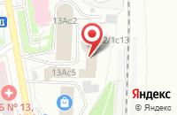 Схема проезда до компании Композитор в Москве