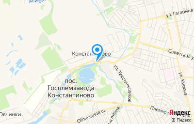 Местоположение на карте пункта техосмотра по адресу Московская обл, г Домодедово, с Константиново, тер Васко