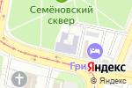 Схема проезда до компании Московский университет государственного управления в Москве
