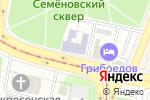 Схема проезда до компании Каза артузи в Москве