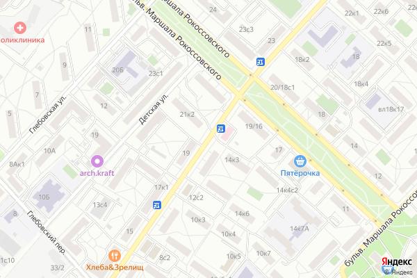Ремонт телевизоров Улица Бойцовая на яндекс карте