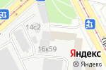 Схема проезда до компании ZumbaClass.ru в Москве