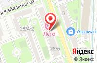 Схема проезда до компании Промтехинвест в Москве