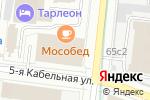 Схема проезда до компании Decoretto-mebel в Москве