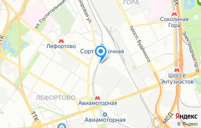 Местоположение на карте пункта техосмотра по адресу г Москва, проезд Энтузиастов, д 5 стр 3