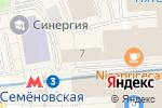 Схема проезда до компании VeloBroo в Москве