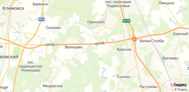 Долматово на карте