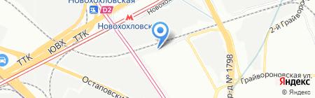 Gross на карте Москвы