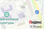 Схема проезда до компании Школа №1321 в Москве
