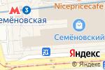 Схема проезда до компании Вкусный Букет РФ в Москве