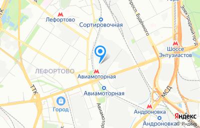 Местоположение на карте пункта техосмотра по адресу г Москва, проезд Энтузиастов, д 19 стр 6