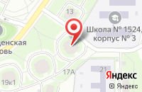 Схема проезда до компании Строй-Гарант в Москве