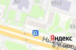 Схема проезда до компании Flower loft в Москве
