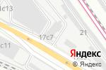 Схема проезда до компании Окнасити в Москве
