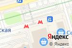 Схема проезда до компании Станция Домодедовская в Москве