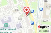 Схема проезда до компании ГЕРЦ Инженерные системы в Москве