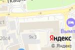 Схема проезда до компании Optima в Москве