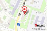 Схема проезда до компании Магазин инструментов в Яблоновском
