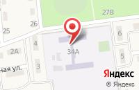 Схема проезда до компании Средняя общеобразовательная школа №19 в Коржевском