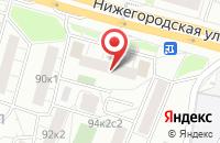 Схема проезда до компании Стройинвест в Москве