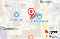 Схема проезда до компании ИНКОМ-Издат в Москве