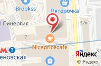 Схема проезда до компании Либур в Москве