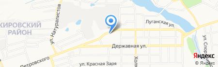 79 на карте Донецка