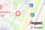 Схема проезда до компании Ультрамед в Москве