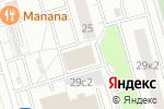 Схема проезда до компании Технип в Москве