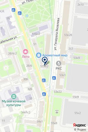 ИНФОРМАЦИОННО-АНАЛИТИЧЕСКИЙ ЦЕНТР ИНФОРКОМ на карте Москвы