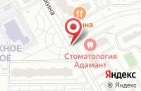 Схема проезда до компании АЗПИ Электроникс в Москве