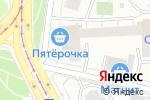 Схема проезда до компании Tsveti24.ru в Москве