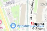 Схема проезда до компании Альтиграф в Москве