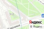 Схема проезда до компании Лаванда в Москве