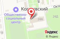 Схема проезда до компании Коржевский в Коржевском