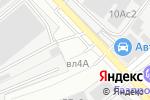 Схема проезда до компании Автомастерская в Москве