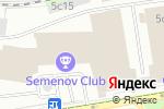 Схема проезда до компании Постельмаркет.рф в Москве