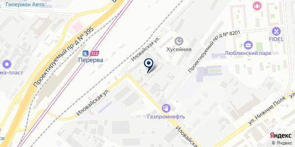 АДЕМгласс на карте Москве
