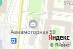 Схема проезда до компании Cospa в Москве